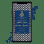 Invites Cafe Muslim Wedding Invitation 007
