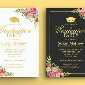 Graduation Party Print Ready 002