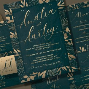 Christian Wedding Invitation Print Ready 009