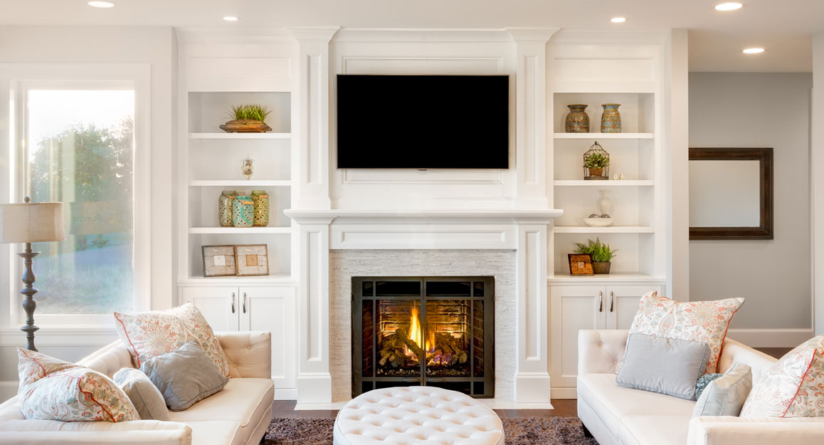 Adding Grace And Charm With Fireplace Mantels Inviting Home