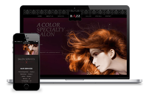 now-creative-web-design-portfolio-razz-salon