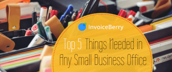 Check out our list of the five most important things needed in any small business office
