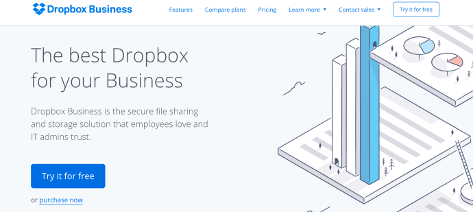 Dropbox for Business cloud storage service