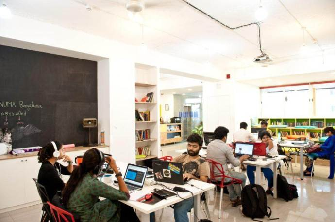 Numa is a coworking space/accelerator great for budding entrepreneurs and small businesses