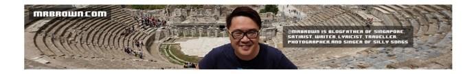 Singapore Tech Blogs: Mr Brown