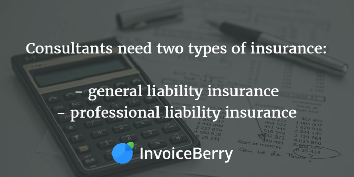 These are the two types of insurance consultants should have