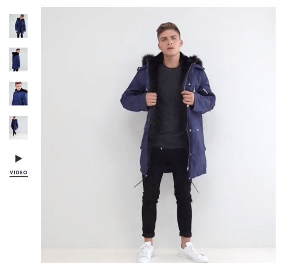 Asos-Video-SEO-Product-Description-Example