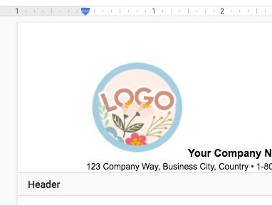 logo-position-google-docs-invoice