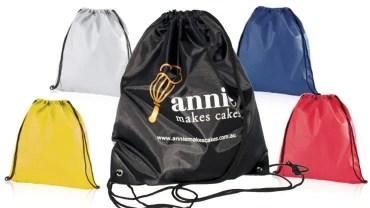 Zaini e sacche in nylon personalizzate
