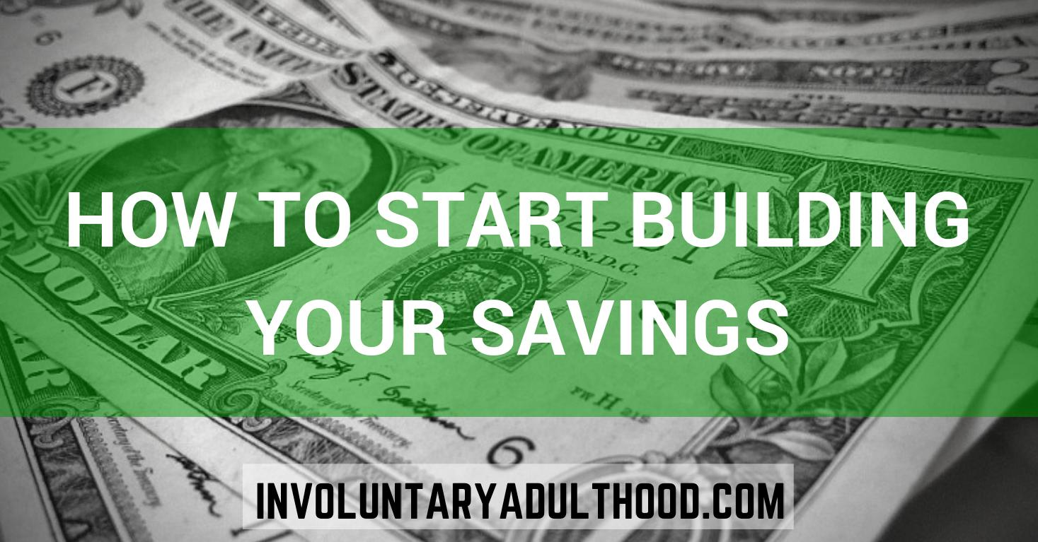How to Start Building Your Savings
