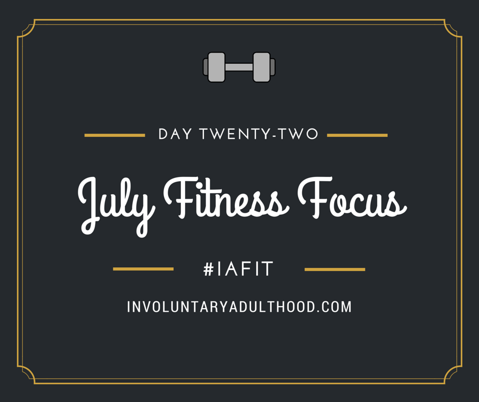 #IAFit: Day 22 – Barre at Home