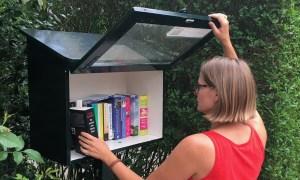 Mini bibliotheken in Wassenaar