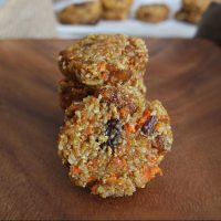 Carrot Cake Breakfast Cookie Recipe