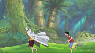 In what episode does Luffy train with Rayleigh? [One Piece]