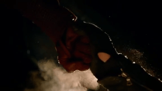 In what episode does Arrow fights The Flash? [The Flash]