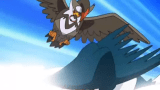 Staravia Evolves and learns Close Combat [Pokémon]