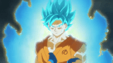 Goku Goes Super Saiyan Blue For First Time [Dragon Ball Super]