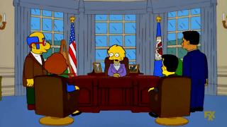 Donald Trump Mentioned as President [The Simpsons]