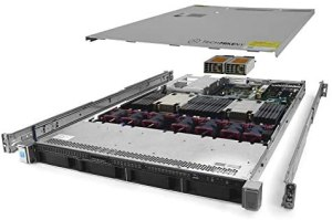 TechMikeNY Server 3.00Ghz 8-Core 96GB 4X New 500GB SSD High-End ProLiant DL360 G9 (Renewed)