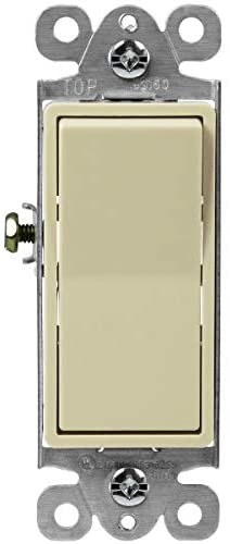 Read more about the article ENERLITES Illuminated 3-Way Decorator Paddle Light Switch, Three Way, Push-in and Side Wiring, Copper Wire Only, Grounding Screw, Residential Grade, 15A 120-277V, UL-Listed, 93160-I, Ivory
