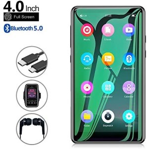 Read more about the article Mp3 Player with Bluetooth 5.0,Tengsen 4.0″ Full Touchscreen HD Video Mp4 Mp3 Music Player with Speaker, 16GB Portable HiFi Sound with FM Radio, Voice Recorder, E-Book, Sport Pedometer,Support TF Card