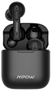 Wireless Earbuds Active Noise Cancelling, Mpow X3 ANC Bluetooth Earphones w/4 Mics Noise Cancelling, Stereo Earbuds w/Deep Bass, 30Hrs ANC Earbuds w/USB-C Charge, Smart Touch Control, IPX8 Waterproof