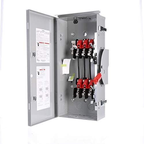 Read more about the article Siemens DTGNF323NR 100-Amp, 3 Pole, 240-volt, 4 Wire, General Duty, Double Throw, Type 3R