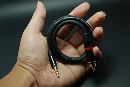 Coaxial Digital Audio Cable SPDIF HiFi 3.5mm to RCA for Fiio X7 / X3K / X5K / X5 2nd Gen / X5 II / X3 II & AIGO EROS H06 Player (100cm)