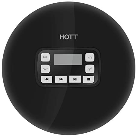 Read more about the article HOTT Bluetooth CD Player Car CD Player Portable CD Player Compact Personal CD Player Music Player Disc CD Player with Earbuds HiFi Stereo Sound Electronic Skip Protection and Anti-Shock Function