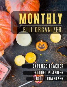 Monthly Bill Organizer: budget financial planner | Weekly Expense Tracker Bill Organizer Notebook for Business or Personal Finance Planning Workbook | … (Financial Planner Budget Book, Band 53)
