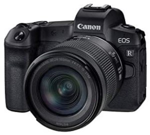 Canon EOS RP Systemkamera – mit Objektiv RF 24-105mm F4-7.1 IS STM (spiegellos, 26,2 MP, 7,5 cm Clear View LCD II Display, 4K, DIGIC 8 Bildprozessor, WLAN, Bluetooth, Vollformat-Sensor), schwarz