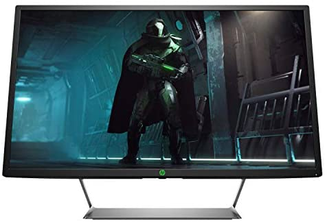 HP Pavilion HDR 32 (32 Zoll / QHD LED) Gaming Monitor (AMD FreeSync, 2 x HDMI, 1 x DisplayPort, 2560 x 1440, 60Hz, Reaktionszeit 5ms) schwarz