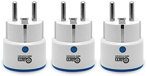 NEO Coolcam Z-Wave Plus Smart Power Plug Power Metering On/Off (Packung zu 3)