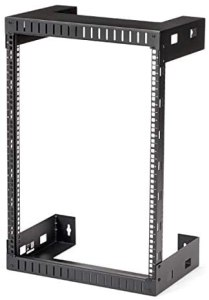 StarTech.com 15 HE wandmontage Server Rack, 30,5cm tief, Open Frame, Netzwerk Rack, 2 Post Rack