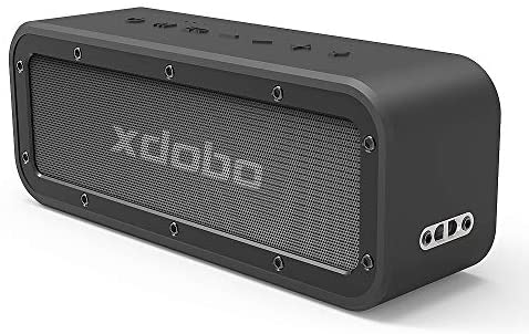 xdobo 40W Portable Bluetooth Lautsprecher 5.0 System mit 15 Stunden Spielzeit TWS Dual Driver Wireless Stereo Paarung IPX 7 Waterproof Staubdicht HD Loud Sound und Deep Bass für Home Outdoor