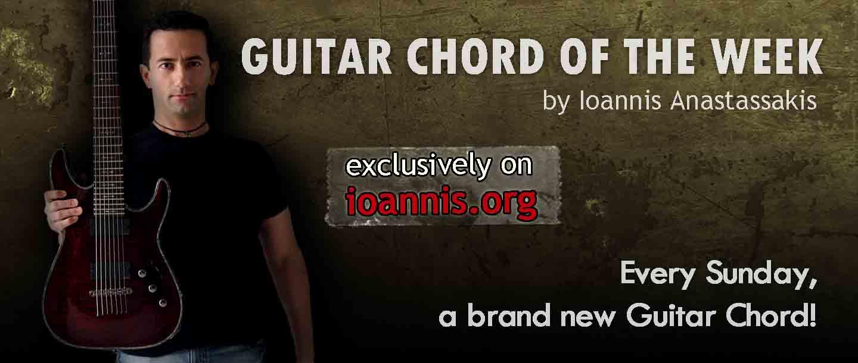 Chord Of The Week Cmaj9 Open Chord Ioannis Anastassakis