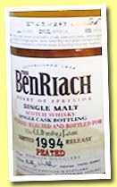Benriach-19-yo-1994-OB-The-Whisky-Fair