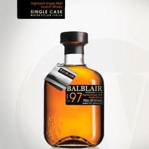 Balblair 1997/2015 (Whisky Club Italia, 2015, 57,6%) Cask 1110