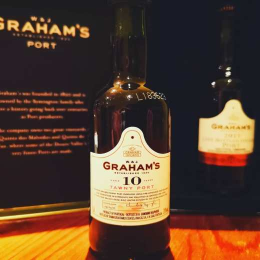 GRAHAM'S 10 TAWNY PORT