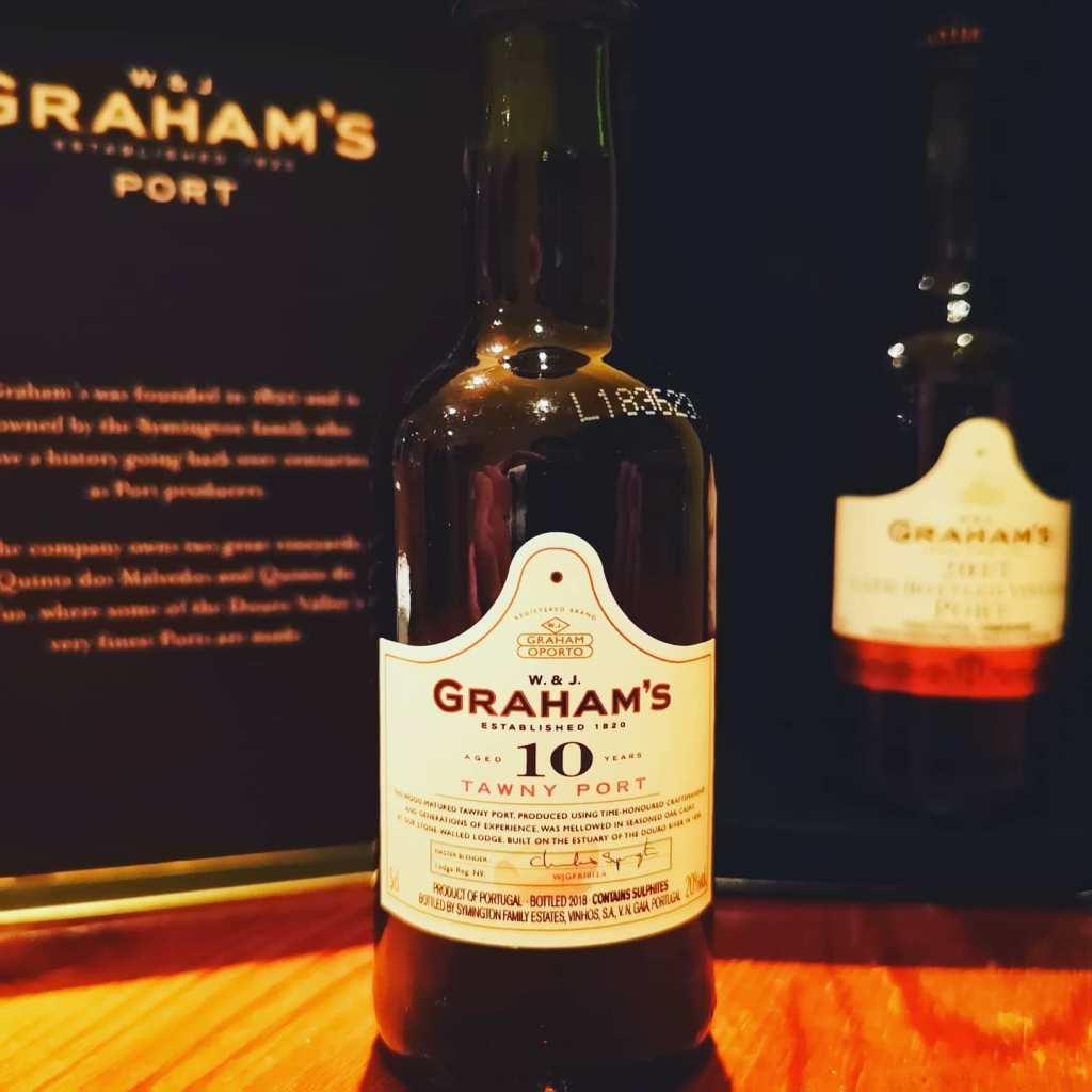 GRAHAM'S 10 TAWNY PORT