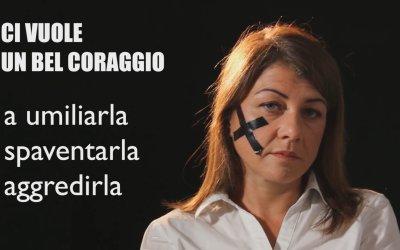 Violenza contro le donne, ci vuole un bel coraggio