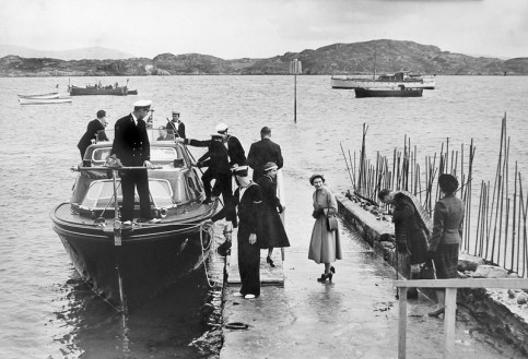 The Queen's visit to Iona, 1956 (Molly Harvey archive)