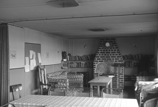 The Common Room of the 'Rome Express' (Calthorpe Emslie archive)