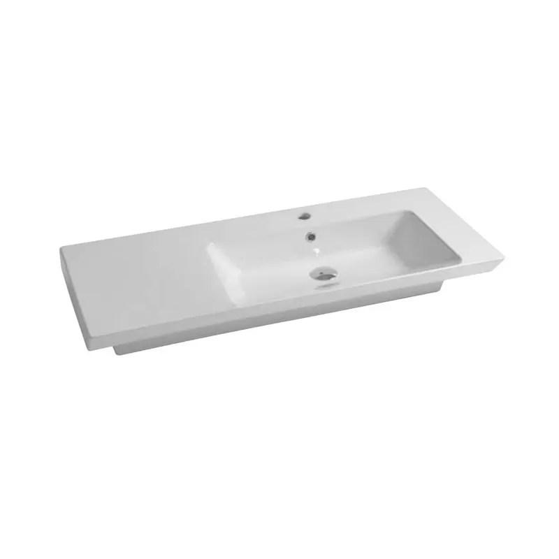 lavabo mural lavabo suspendu 106 edge disegno ceramica ed106dx101 ionahomestore com