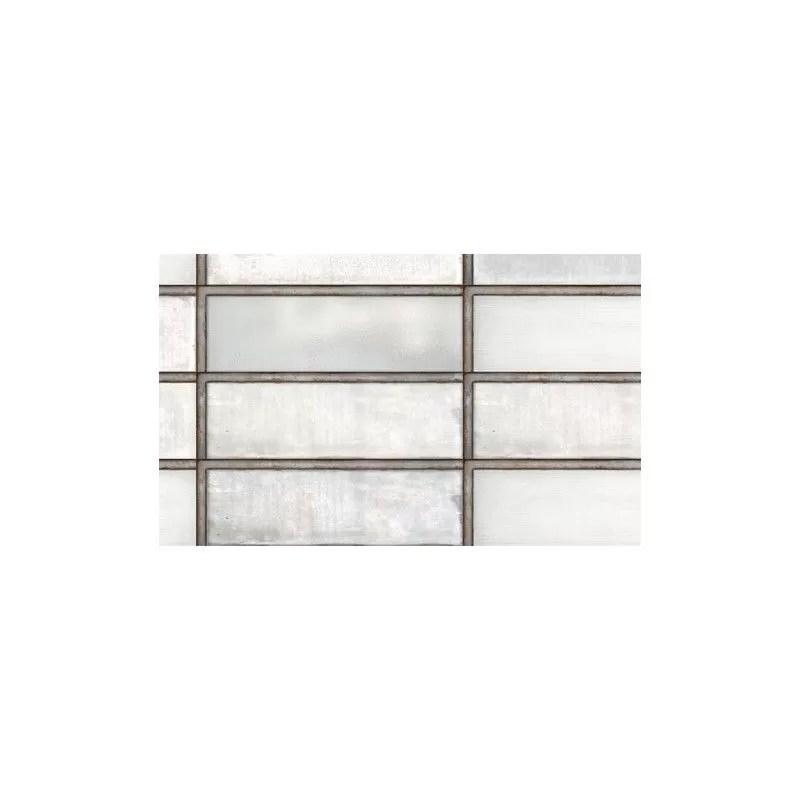 white glass 10x30 cm industrial glass diesel living 754922 iris ceramica ionahomestore com