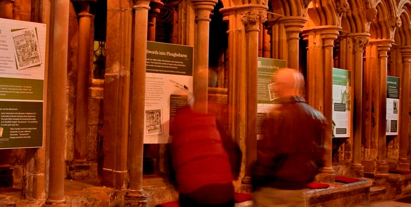 SKJB Exhibition at Lichfield Cathedral
