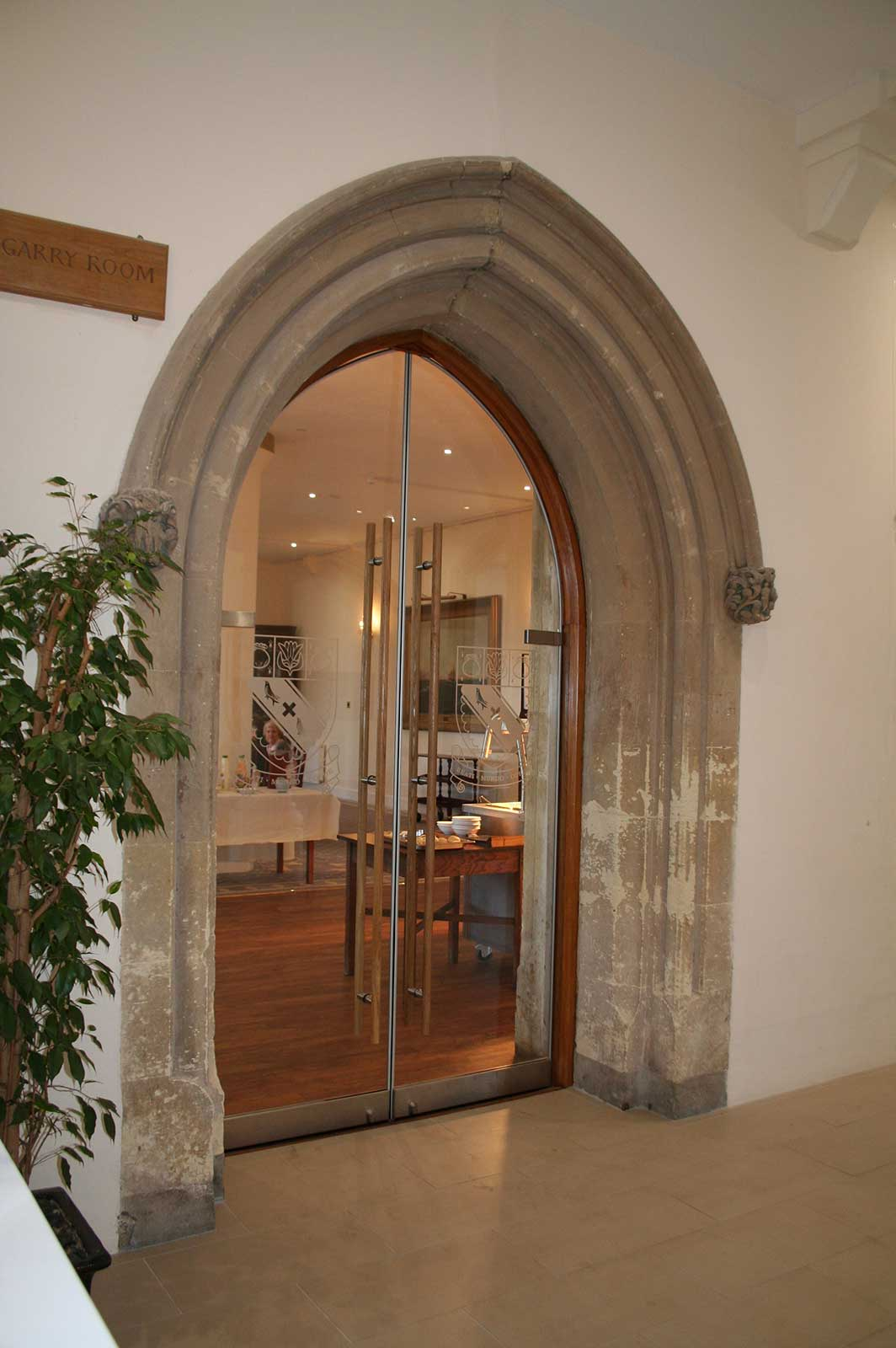 Arched Interior Door