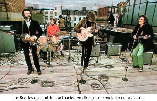 Concierto terraza Beatles
