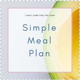 The Simple Meal Plan is here to help put an end to the meal planning game. Choose from 20+ recipes for breakfast, lunch and dinner that are healthy, flavorful and easy to make.