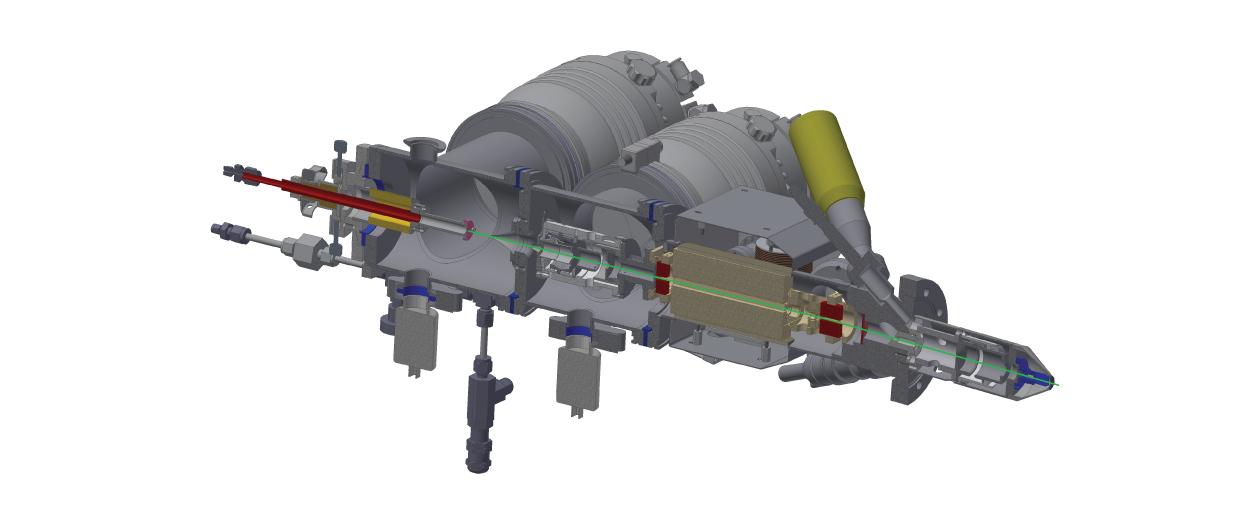 GCIB 10S Gas Cluster Ion Beam